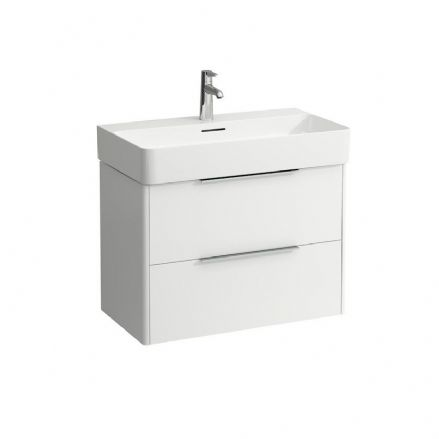 810285 - Laufen Val 750mm x 420mm Washbasin & Base Vanity Unit - 8.1028.5